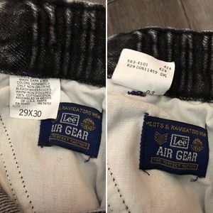 Lee Jeans - 🦄RARE vintage Lee Air Gear cargo jeans😱